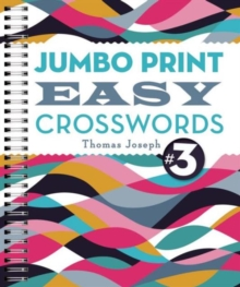 Jumbo Print Easy Crosswords #3, Paperback Book
