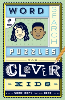 Word Search Puzzles for Clever Kids, Paperback Book