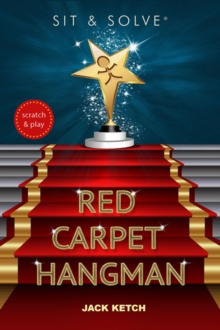 Sit & Solve Red Carpet Hangman, Paperback Book