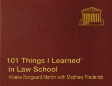 101 Things I Learned in Law School, Hardback Book