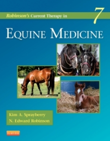 Robinson's Current Therapy in Equine Medicine, Hardback Book