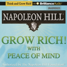 Grow Rich! With Peace of Mind, eAudiobook MP3 eaudioBook