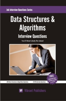 Data Structures & Algorithms Interview Questions You'll Most Likely be Asked, Paperback Book