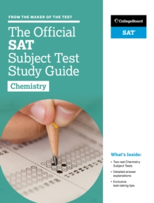 The Official SAT Subject Test in Chemistry Study Guide, Paperback Book