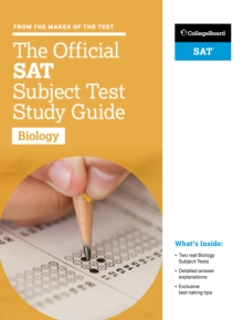 The Official SAT Subject Test in Biology Study Guide, Paperback Book