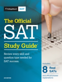 The Official SAT Study Guide, Paperback / softback Book