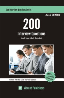 200 Interview Questions You'll Most Likely Be Asked, EPUB eBook