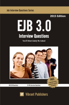 EJB 3.0 Interview Questions You'll Most Likely Be Asked, EPUB eBook