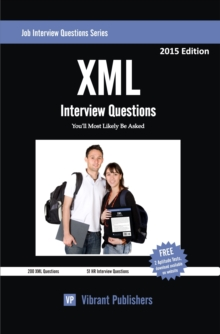 XML Interview Questions You'll Most Likely Be Asked, PDF eBook