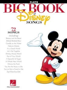 The Big Book Of Disney Songs : Flute, Paperback / softback Book
