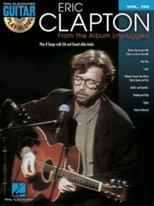 Guitar Play-Along Volume 155 : Eric Clapton From The Album Unplugged, Paperback / softback Book