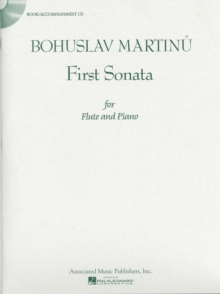 Bohuslav Martinu : First Sonata for Flute and Piano, Mixed media product Book