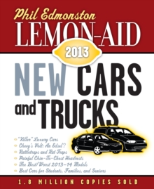Lemon-Aid New Cars and Trucks 2013, PDF eBook