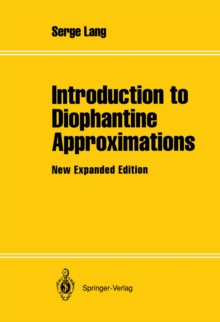 Introduction to Diophantine Approximations : New Expanded Edition, PDF eBook