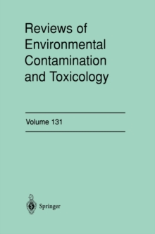 Reviews of Environmental Contamination and Toxicology : Continuation of Residue Reviews, PDF eBook