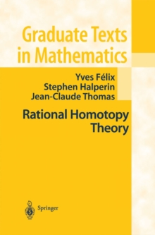 Rational Homotopy Theory, PDF eBook