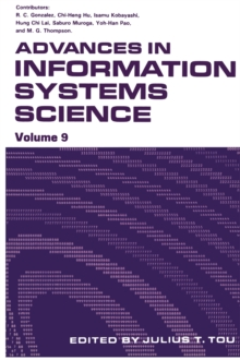 Advances in Information Systems Science : Volume 9, PDF eBook