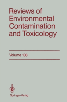 Reviews of Environmental Contamination and Toxicology, PDF eBook