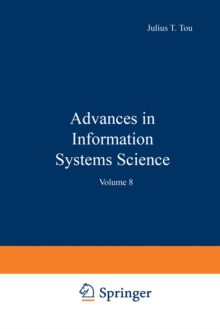 Advances in Information Systems Science : Volume 8, PDF eBook