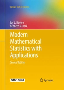 Modern Mathematical Statistics with Applications, Hardback Book