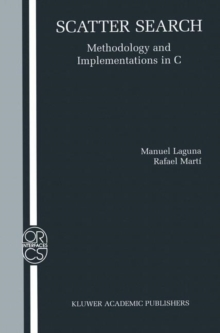 Scatter Search : Methodology and Implementations in C, PDF eBook