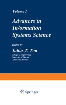 Advances in Information Systems Science : Volume 1, PDF eBook