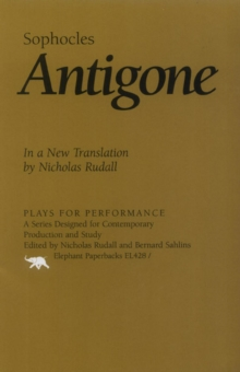 Antigone : In a New Translation by Nicholas Rudall, EPUB eBook