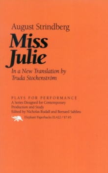 Miss Julie, EPUB eBook