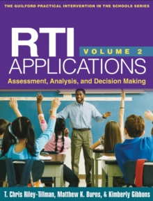 RTI Applications, Volume 2 : Assessment, Analysis, and Decision Making, PDF eBook