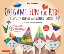 Origami Fun for Kids Ebook : 20 Fantastic Folding and Coloring Projects: Origami Book, Fun & Easy Projects, and Downloadable Instructional Video, EPUB eBook