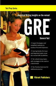 Analytical Writing Insights on the Revised GRE General Test, Paperback Book