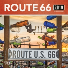 ROUTE 66 2019 MINI WALL CALENDAR,  Book