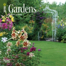 Gardens 2018 Mini Wall Calendar, Calendar Book