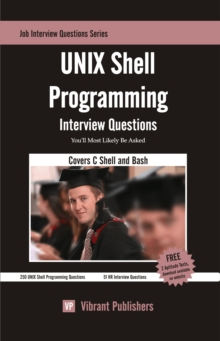 UNIX Shell Programming Interview Questions You'll Most Likely Be Asked, EPUB eBook