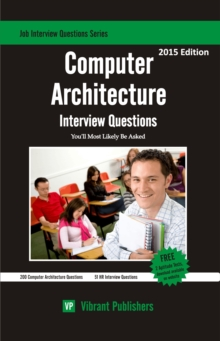 Computer Architecture Interview Questions You'll Most Likely Be Asked, EPUB eBook