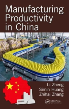 Manufacturing Productivity in China, Hardback Book