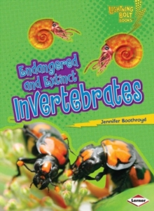 Endangered and Extinct Invertebrates, Paperback / softback Book