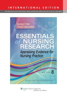 Essentials of Nursing Research : Appraising Evidence for Nursing Practice, PDF eBook