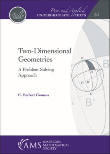 Two-Dimensional Geometries : A Problem-Solving Approach, Hardback Book