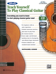 TEACH YOURSELF TO PLAY CLASSICAL GUITAR, Paperback Book