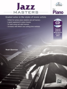 JAZZ MASTERS FOR PIANO, Paperback Book