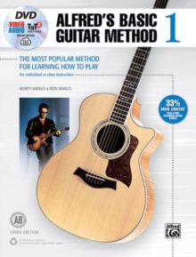 ALFRED'S BASIC GUITAR BOOK 1 BOOK AND CD, Paperback Book