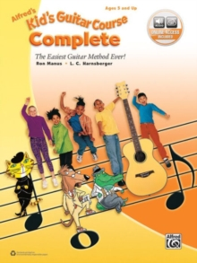 ALFREDS KIDS GUITAR COURSE COMPLETE BOOK, Paperback Book