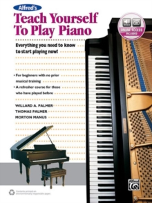 ALFREDS TEACH YOURSELF TO PLAY PIANO, Paperback Book