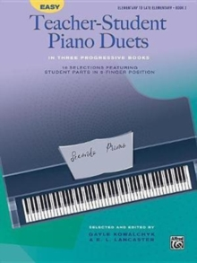 EASY TEACHERSTUDENT PIANO DUETS BOOK 2, Paperback Book