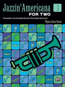 JAZZIN AMERICANA FOR TWO BOOK 3, Paperback Book