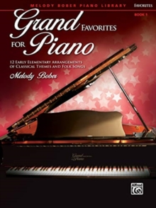 GRAND FAVORITES FOR PIANO 1, Paperback Book