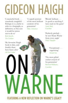 On Warne, Paperback / softback Book