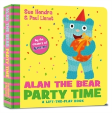 Alan the Bear Party Time, Board book Book