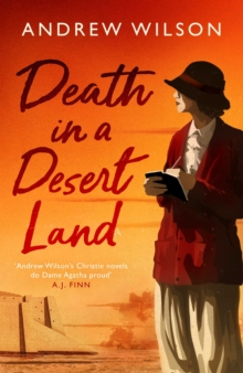 Death in a Desert Land, Hardback Book